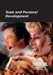 Cover of: Team and Personal Development | David James