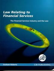 Cover of: Financial Services Industry and the Law