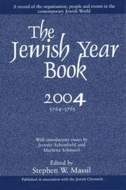 Cover of: Jewish Year Book 2004