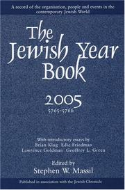 Cover of: The Jewish Year Book 2005