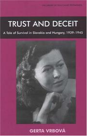 Cover of: Trust And Deceit