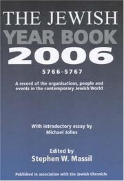Cover of: Jewish Year Book 2006