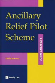 Cover of: Ancillary Relief Pilot Scheme