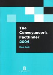 Cover of: The Conveyander's Factfinder 2004