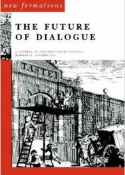 Cover of: The Future of Dialogue | David Glover