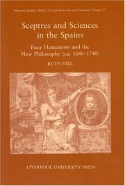 Cover of: Sceptres and Sciences in the Spains | Ruth Ann Hill