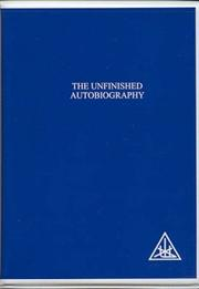 Cover of: The Unfinished Autobiography of Alice A.Bailey