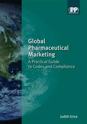 Global Pharmaceutical Marketing by Judith Grice