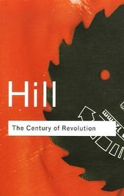 Cover of: The Century of Revolution