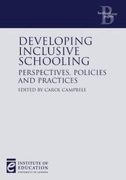 Developing Inclusive Schooling