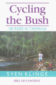 Cover of: Cycling the Bush | Sven Klinge