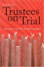 Cover of: Trustees on Trial | Rosalind Kidd