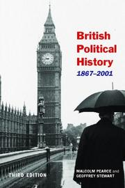 Cover of: British Political History, 1867-2001