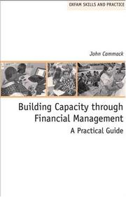 Cover of: Building Capacity Through Financial Management | John Cammack