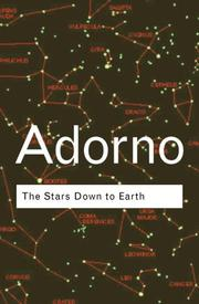 Cover of: The Stars Down to Earth | Theodor W. Adorno