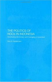 Cover of: Politics of NGOs in Indonesia
