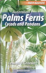 Cover of: Australian Palms, Ferns, Cycads and Pandans (Key Guides)