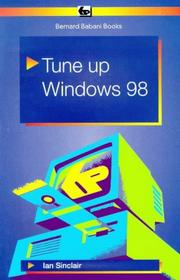 Cover of: Tune Up Windows 98