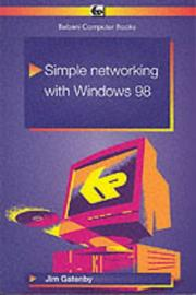 Cover of: Simple Networks for Windows 98