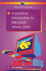 Cover of: A Practical Introduction to Microsoft Works 2000