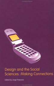 Cover of: Design and the social sciences | Jorge Frascara