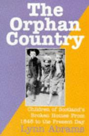 Cover of: The Orphan Country | Lynn Abrams