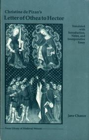 Cover of: Christine de Pizan