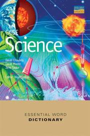 Cover of: Gcse Science Essential Word Dictionary (Essential Word Dictionaries)