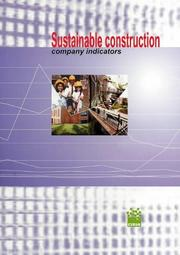 Cover of: Sustainable Construction