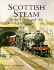 Cover of: Scottish Steam in the 1950s and '60s