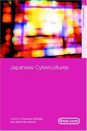 Cover of: Japanese cybercultures |