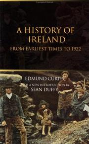 Cover of: A history of Ireland