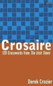 Cover of: Crosaire Cryptic Crosswords | Derek Crozier
