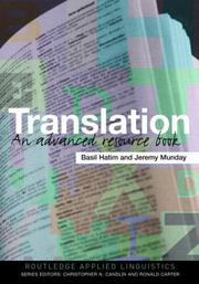Cover of: Translation