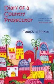 Cover of: Diary of a Country Prosecutor by Tawfiq al-Hakim