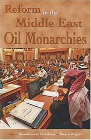 Cover of: Reform in the Middle East oil monarchies |
