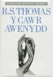 Cover of: R.S. Thomas