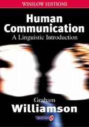 Cover of: Human Communication (Speechmark Editions)