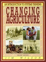 Cover of: Changing Agriculture
