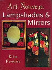 Cover of: Art Nouveau Lampshades and Mirrors