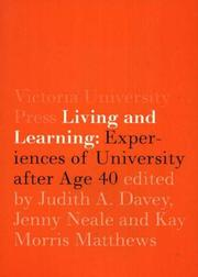 Cover of: Living and Learning |