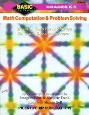 Math Computation and Problem Solving by Imogene Forte