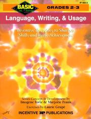 Language, Writing, and Usage by Imogene Forte