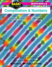 Cover of: Computation and Numbers | Imogene Forte