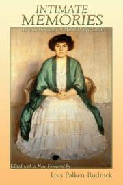 Cover of: Intimate Memories, The Autobiography of Mabel Dodge Luhan