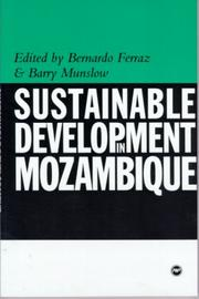 Cover of: Sustainable Development in Mozambique |