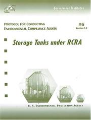 Cover of: Protocol for Conducting Environmental Compliance Audits | United States. Environmental Protection Agency.
