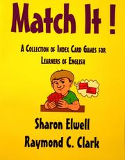 Cover of: Match It! | Sharon Elwell