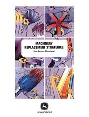 Cover of: Machinery Replacement Strategies with Supporting Software