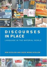 Cover of: Discourses in Place